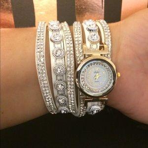 Jewelry - Wrap Around Bracelet Watch